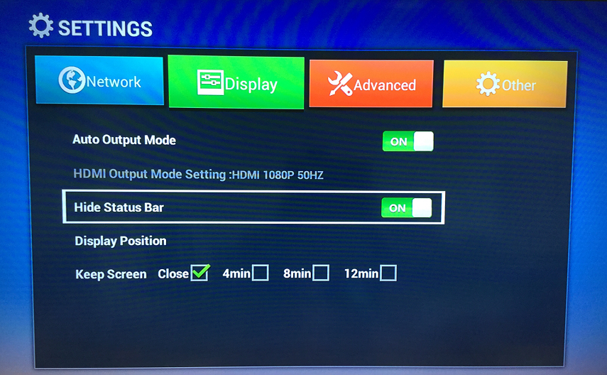 Magicsee Android tv box: No annoyance any more with Status