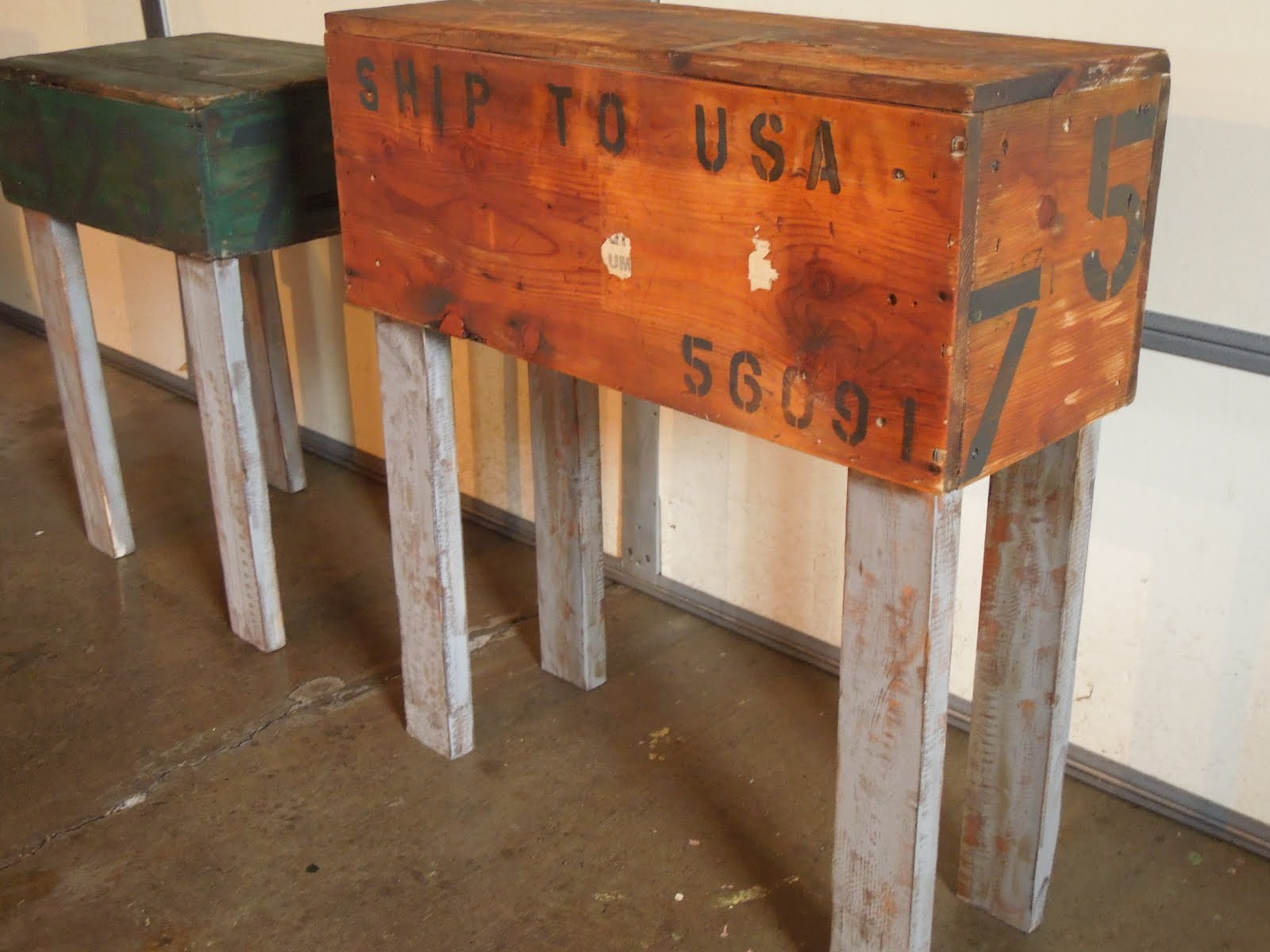 Tall Small Side Table: Tattered Lantern: Entry Table / Tall Side Table (Sold