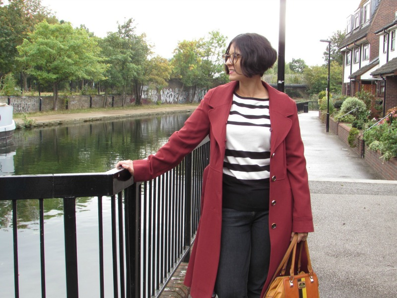 Autumnal F&F coat