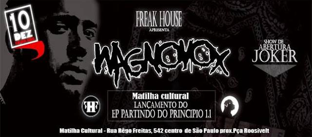 Wagnovox lança EP e grava DVD na Matilha Cultural