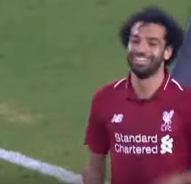 صلاح يسجل هدفاً فى فوز ليفربول على مانشستر سيتى 2-1 ببطولة كأس الأبطال الدولية