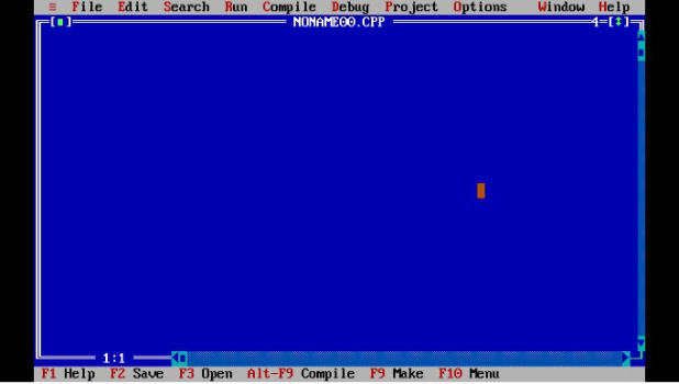 Download Full screen Turbo C++ For Windows