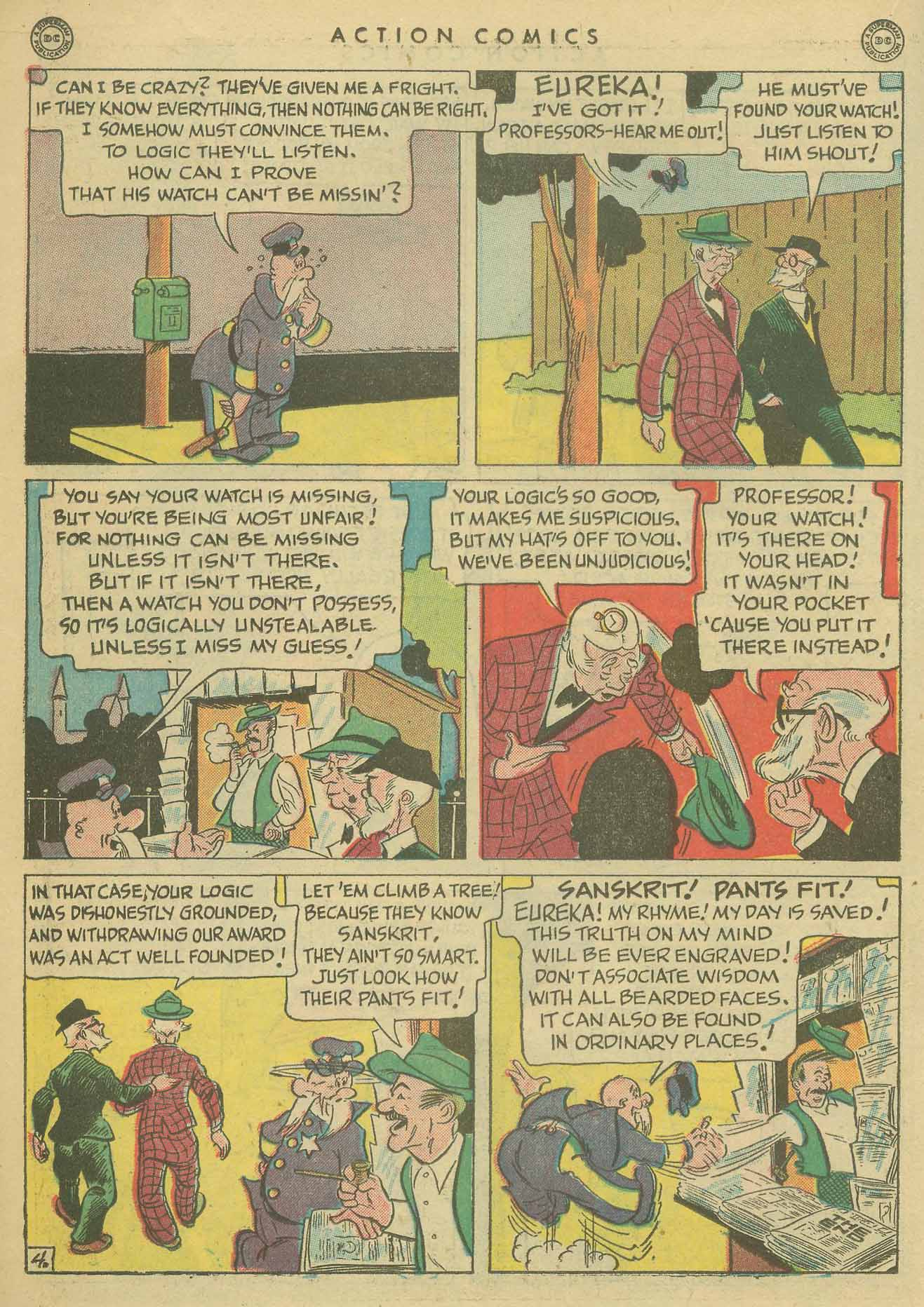 Read online Action Comics (1938) comic -  Issue #102 - 19