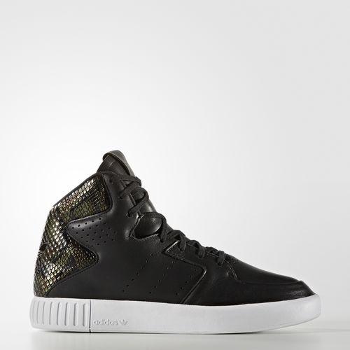 adidas Tubular Invader preto snake skin