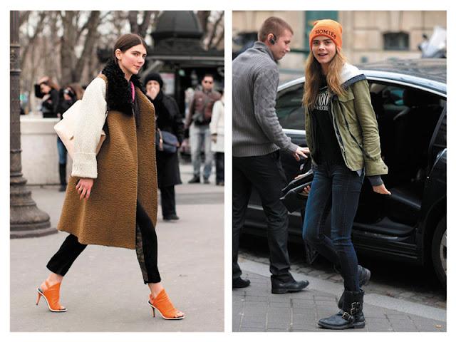 Пальто цвета хаки с оранжевыми туфлями, куртка цвета хаки с оранжевой шапкой