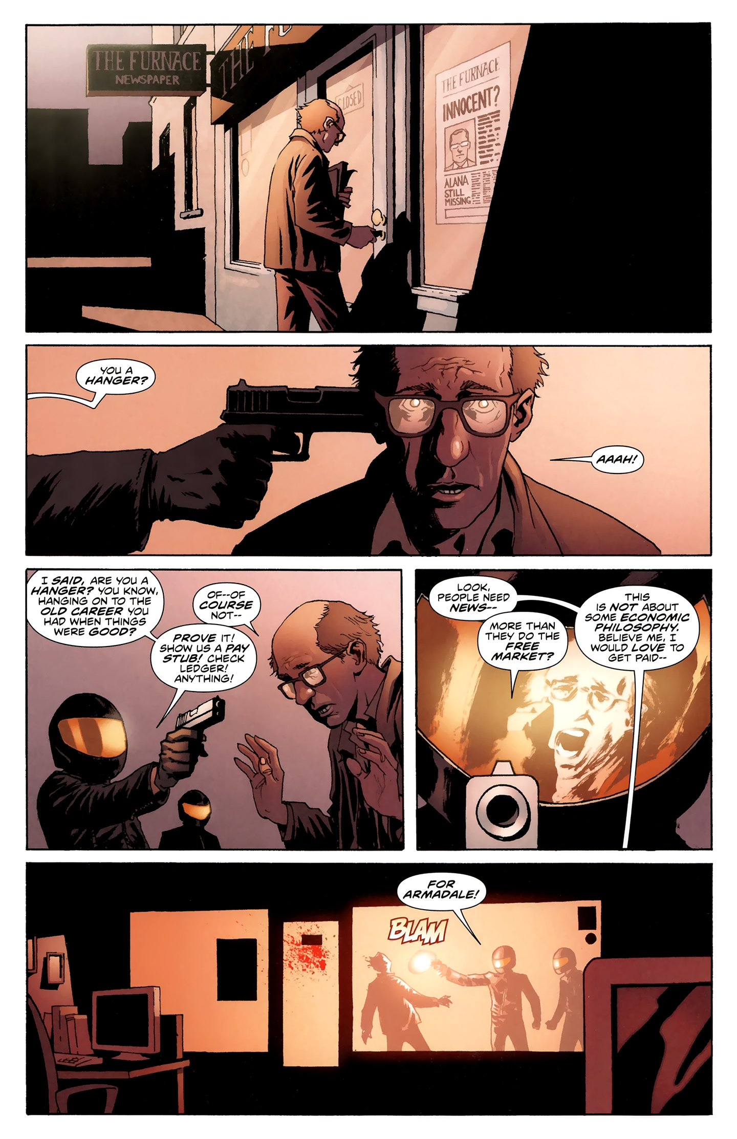 Read online Incorruptible comic -  Issue #28 - 11