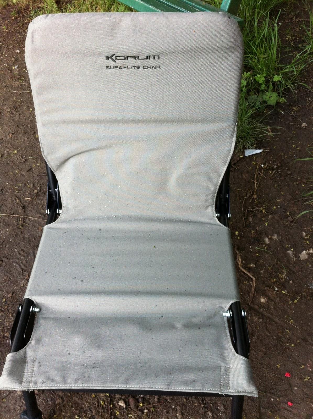 Fishing Roving Chair Childs Adirondack Pete777 Korum Supa Lite