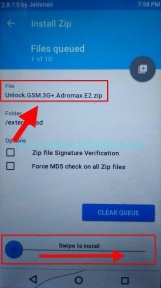 Cara Unlock 4G GSM Andromax E2
