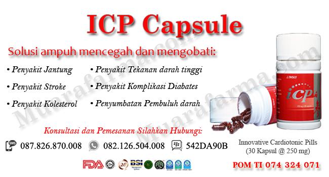 Beli Obat Jantung Koroner ICP Capsule Di Pontianak, agen icp capsule pontianak, harga icp capsule pontianak