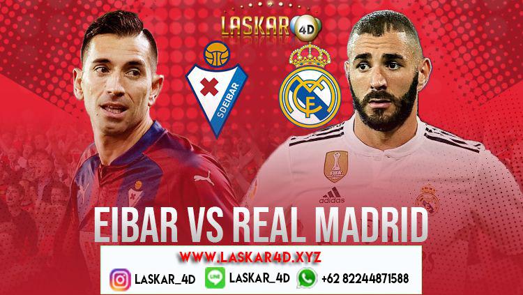 Prediksi Prediksi Real Madrid Vs Eibar Maret 2020