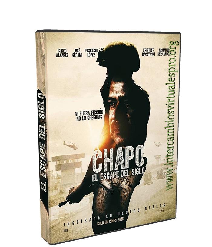 CHAPO EL ESCAPE DEL SIGLO poster box cover