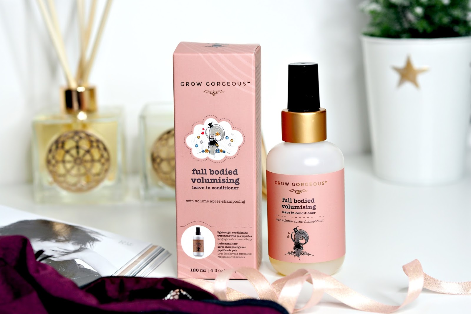 Grow Gorgeous Full Bodied Volumising Leave In Conditioner