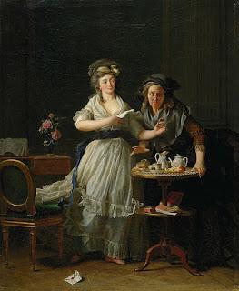 Подборка картин  «Дамы с письмами в живописи»