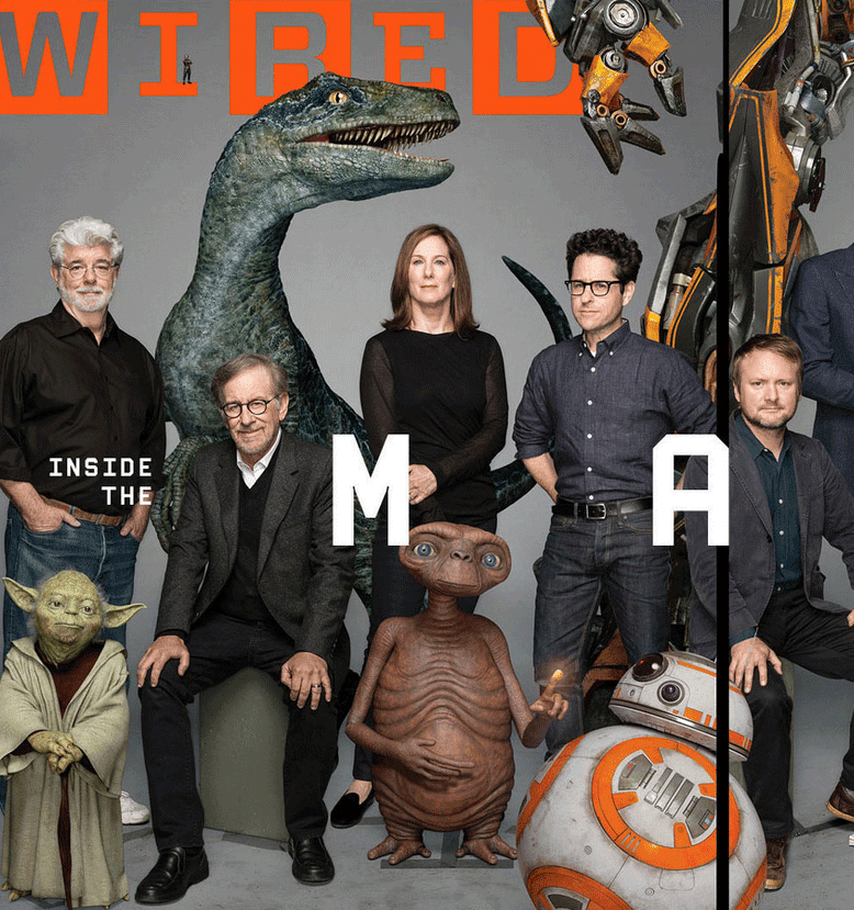 George Who Founded Industrial Light And Magic: George Lucas, Kathleen Kennedy, JJ Abrams, Rian Johnson