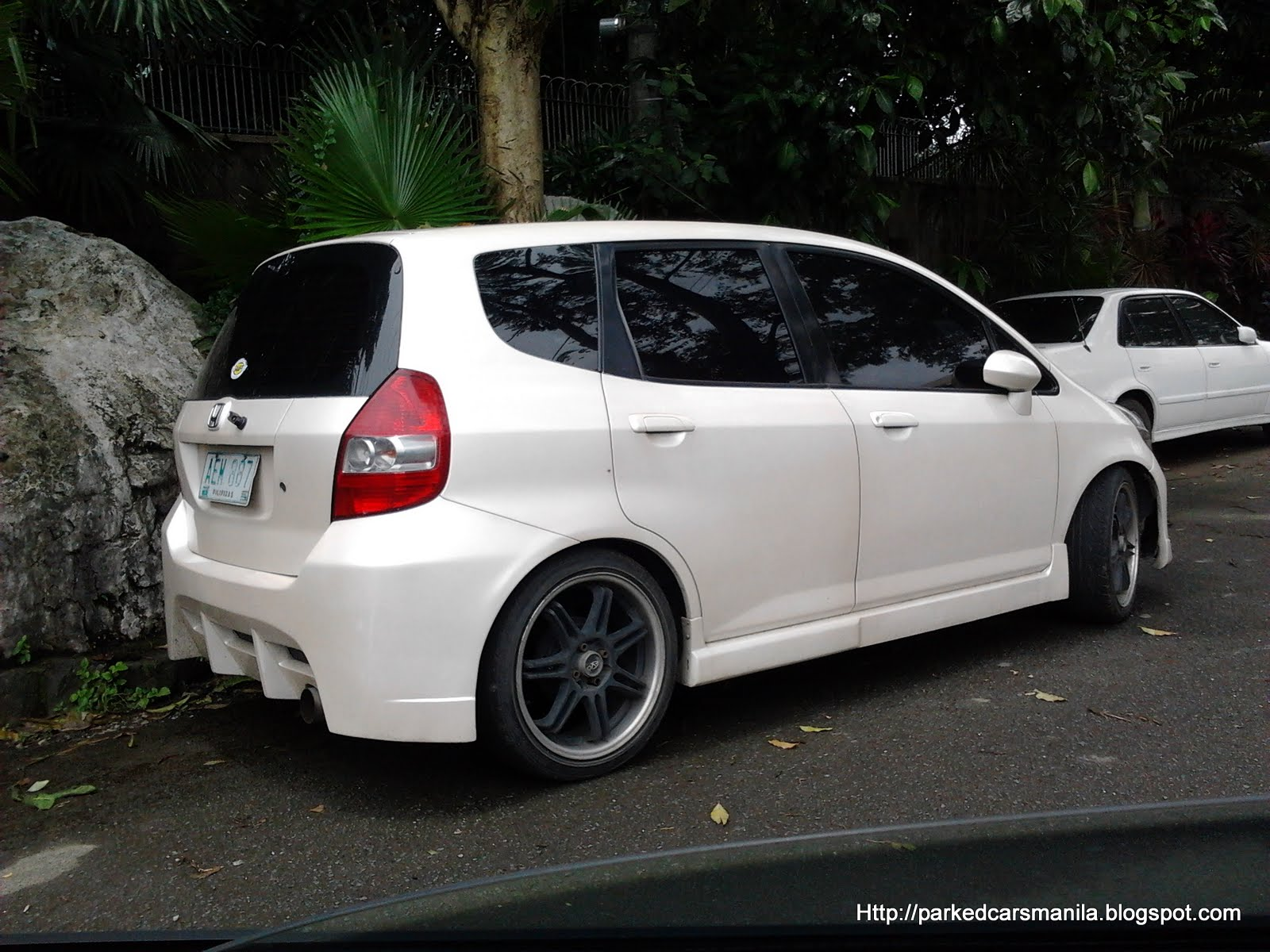 Parked Cars Manila: 2007 Honda Jazz - Modified