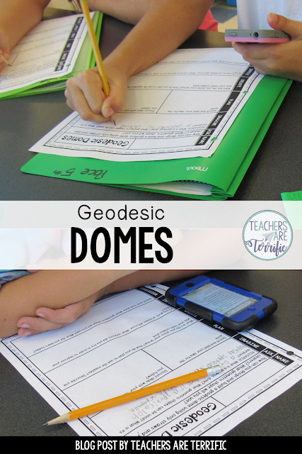 STEM Challenge: Create geodesic domes using straws a a main material. If you save pieces of straws this challenge is for you!