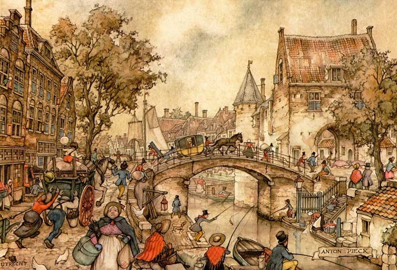 07-Anton-Franciscus Pieck-1895-to-1987-a-life-of-Illustrations-and-Paintings-www-designstack-co
