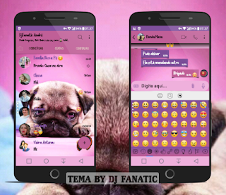 Puppy Theme For YOWhatsApp & Fouad WhatApp By DJ