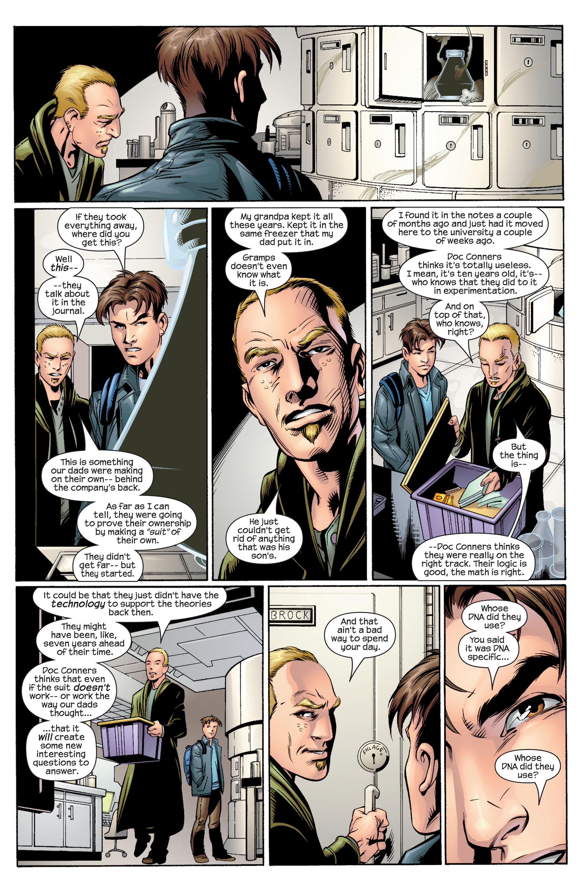 Read online Ultimate Spider-Man (2000) comic -  Issue #34 - 7