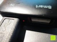 aufladen: Swees® 3200mAh Ultra-kompakt Externer Akku Smart-USB (Smartport für maximale Ladegeschwindigkeit) Powerbank Power Bank Ladegerät Powerpack Zusatzakku für iPhone 6 Plus 5S 5C 5, Samsung Galaxy S3 S4 S5 S6, Note 3 4, Tab 4 3 2 Pro, Nexus, HTC One, One 2 (M8), LG G3 und andere Smartphones MP3 MP4 Player - Schwarz