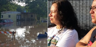 Texas Floods Deliver Snakes, Ants, Debris To Neighborhoods