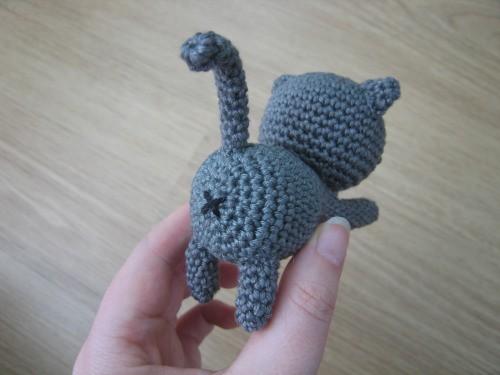 Кот амигуруми крючком