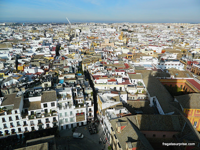 Sevilha vista do alto da Torre da Giralda