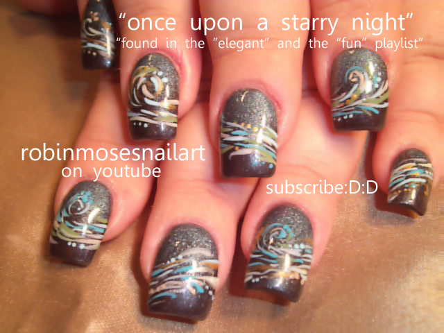 Nail Art By Robin Moses Monster High Nail Monster High Frankie
