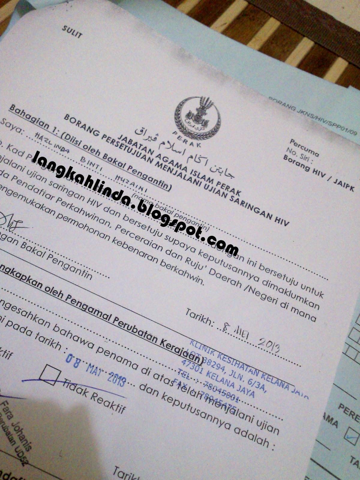 Klinik Selangor Hiv Test Bertanya U