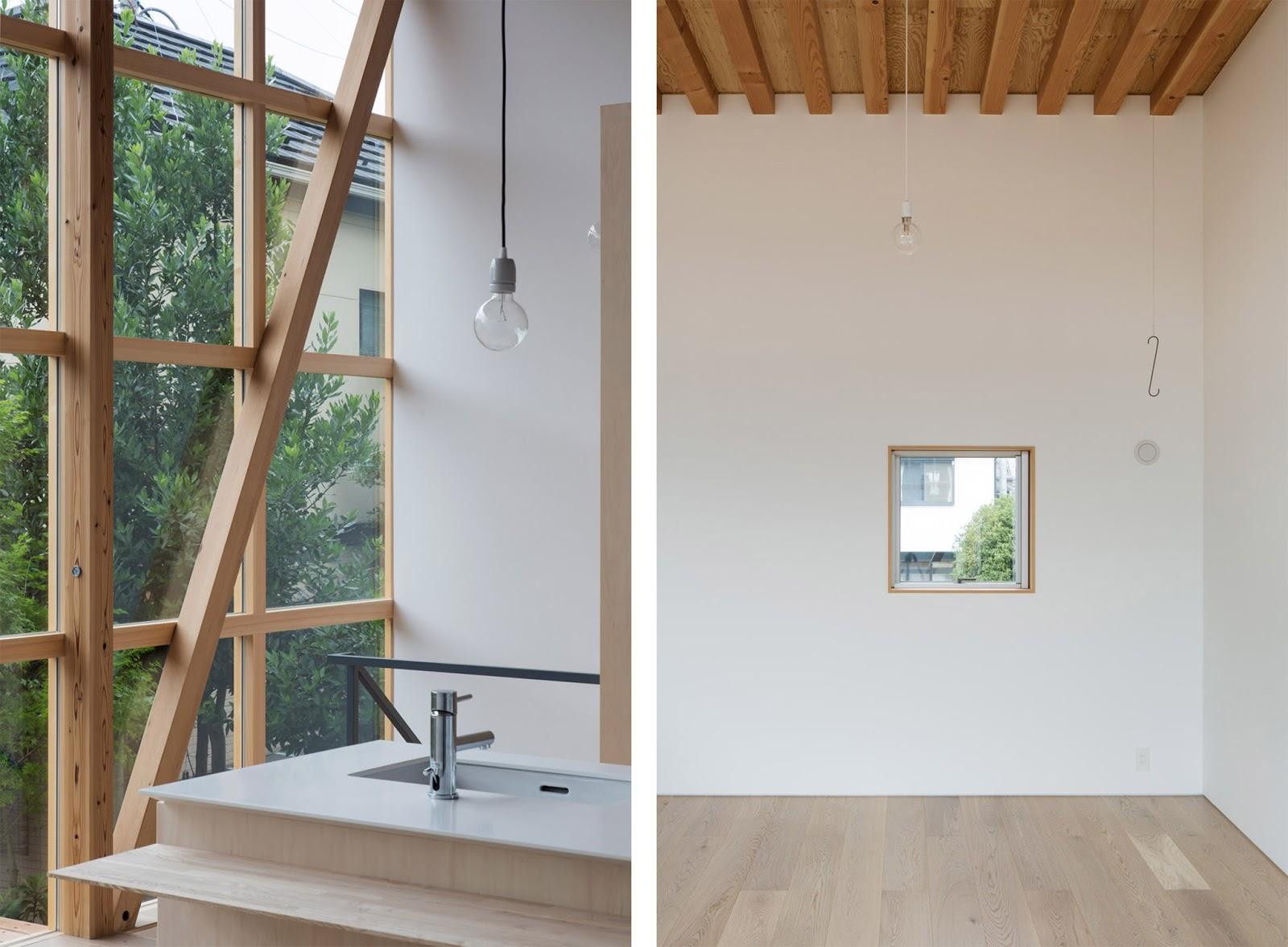 Casa con sistema modulare per tatami in giappone by tetsuo for Giapponese a casa