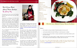 munaty cooking magazine features luxury haven baked scallops