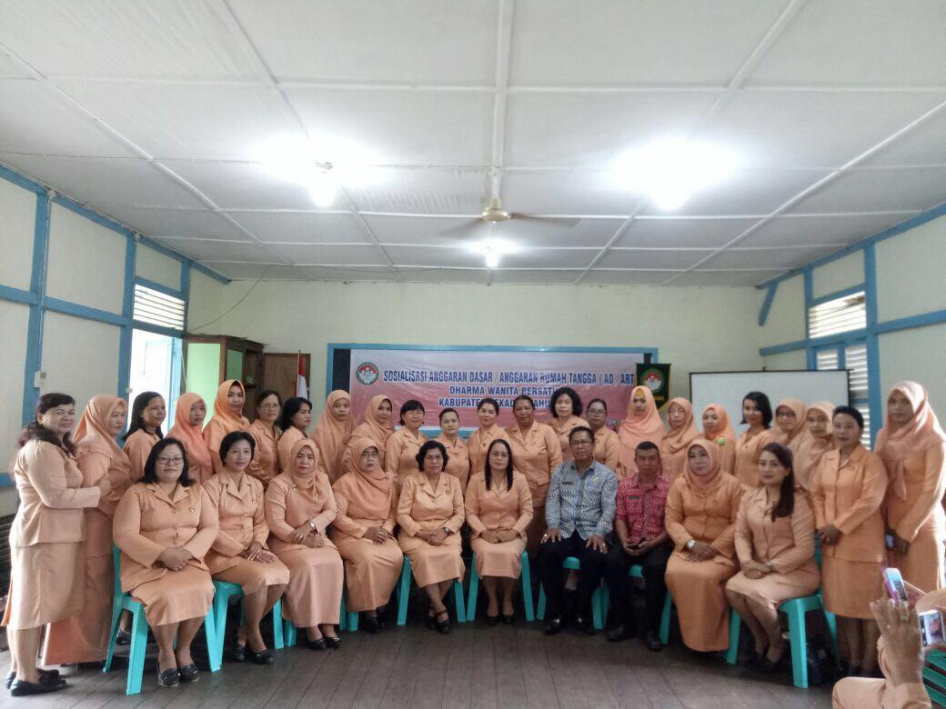 DWP Kabupaten Sekadau Gelar Sosialisasi AD/ART