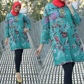 Model Baju Batik Seragam Guru Yang Simpel Dan Elegan