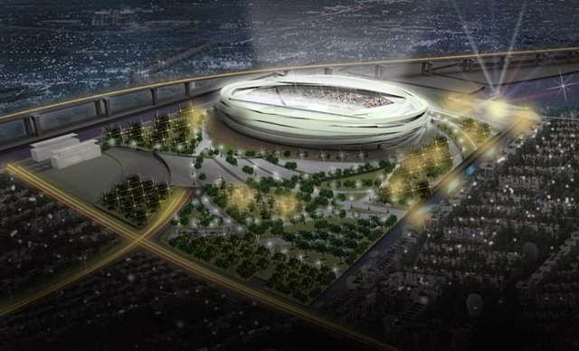 Jakarta International Stadium Image: 4 Awesome Future Football Stadiums