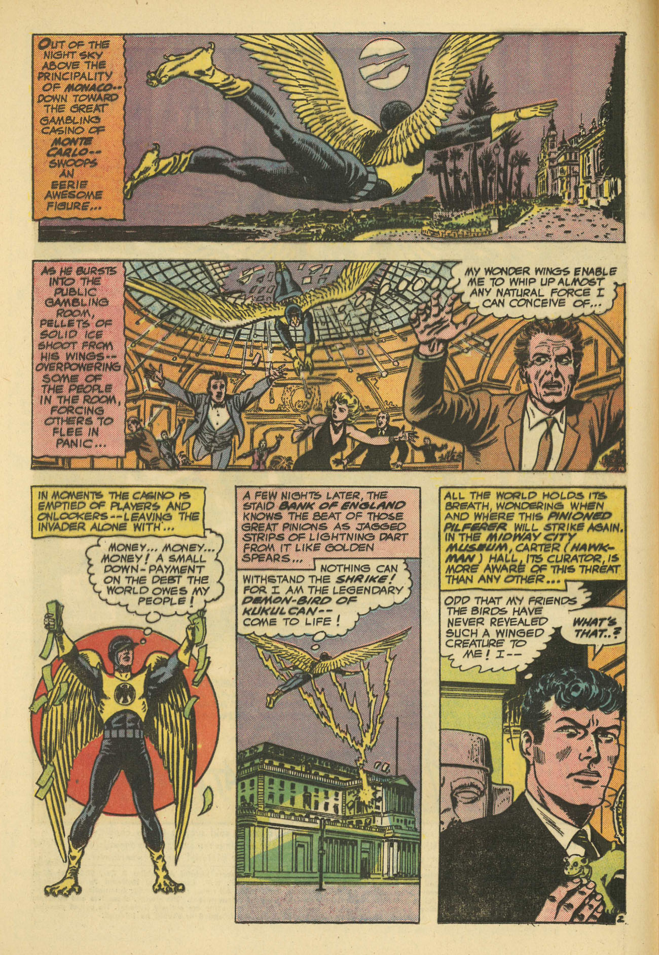 Hawkman (1964) issue 11 - Page 4