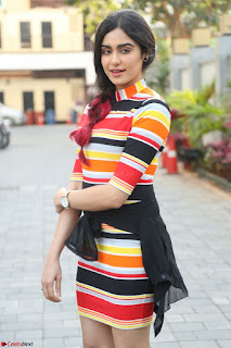 Adha Sharma in a Cute Colorful Jumpsuit Styled By Manasi Aggarwal Promoting movie Commando 2 (34).JPG