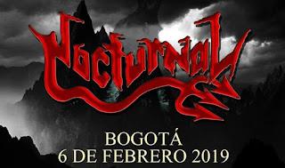 Concierto de NOCTURNAL en Bogotá 2019