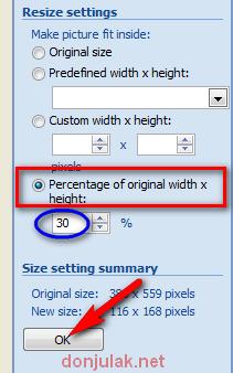 mengatur resolusi gambar menguragai ukuran gambar