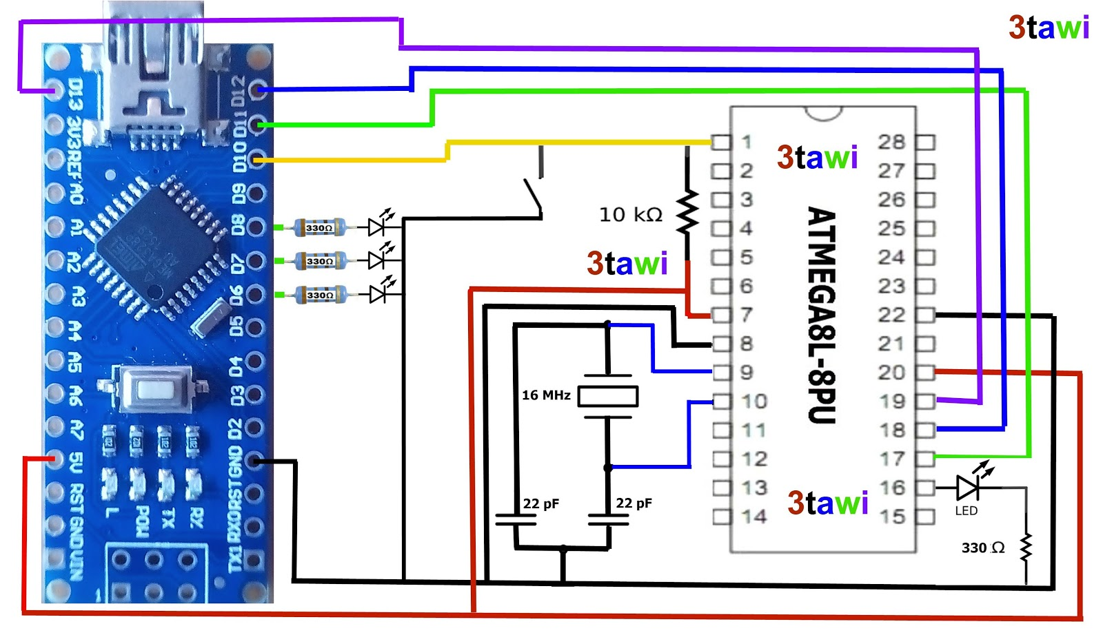 Great Projects  How To Burn Arduino Bootloader And Sketch