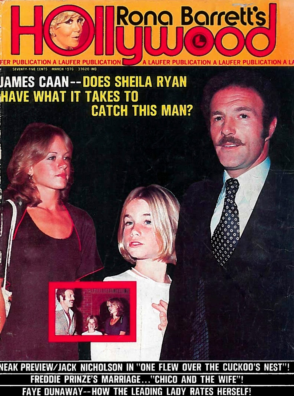 Rona Barrett's Hollywood Super Special-Robert Redford*James Caan*Sonny Bono-1974