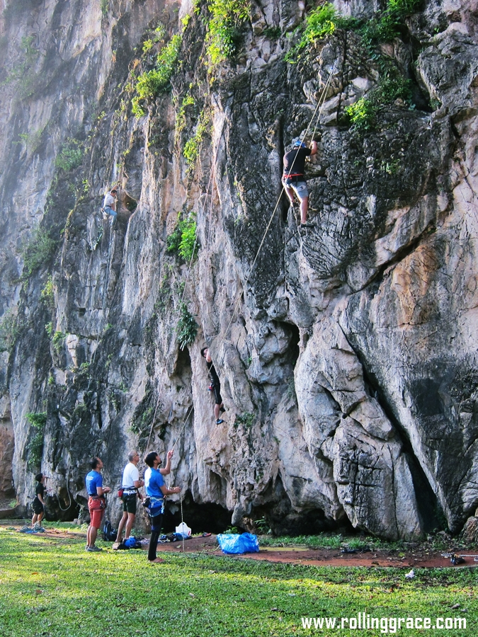 batu caves Rock Climbing