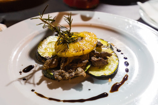 Tapa del restaurante Montecruz en Aracena