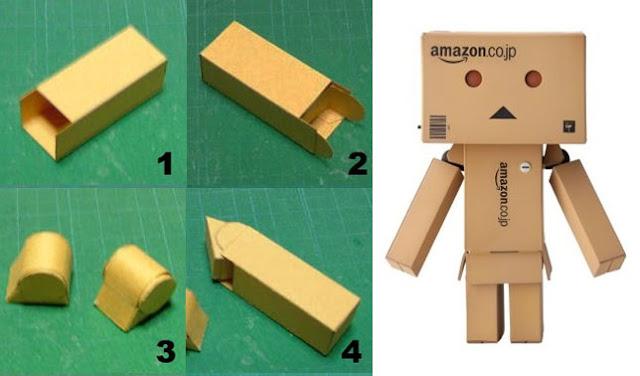 Cara Membuat Robot danbo dari Kardus