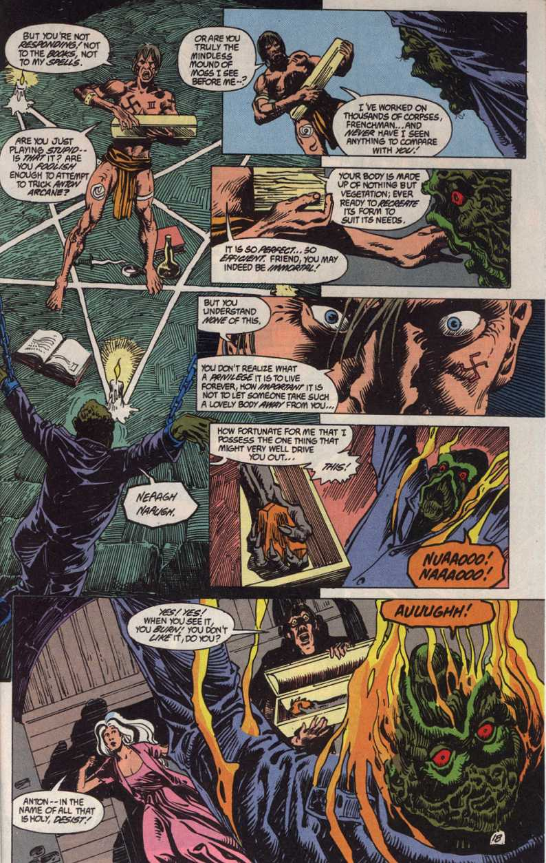 Swamp Thing (1982) Issue #83 #91 - English 18