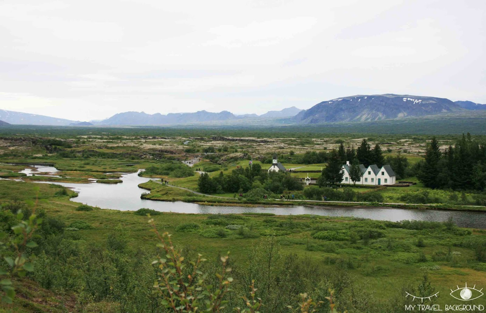 My Travel Background : visite du Cercle d'Or en Islande - Thingvellir / Pingvellir
