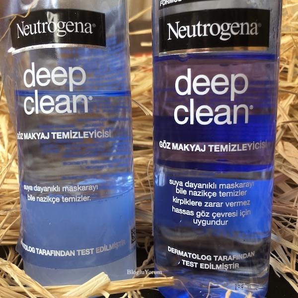 neutrogena deep clean göz makyaj temizleyicisi kullananlar 1