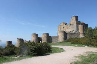 Castles of Spain: Castillo de Loarre, Huesca.