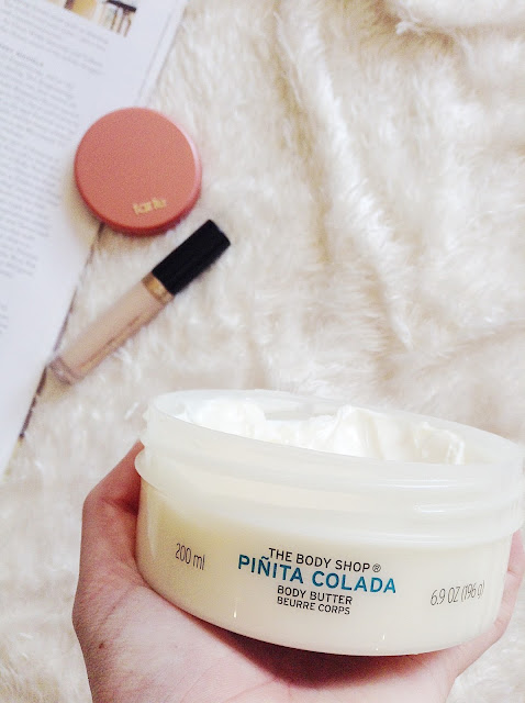 The Body Shop Pinita Colada Body Butter January Favourites