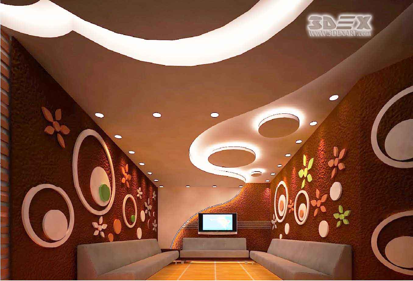 New POP false ceiling designs 2019, POP roof design for ...