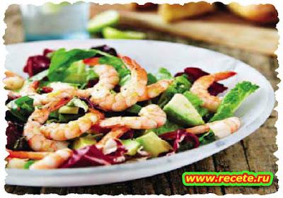 Aletta's prawn salad